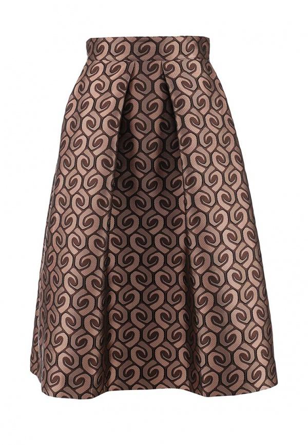 эластичная юбка с высокой талией